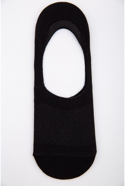 Следы мужские с силиконом на пятке 151R015 цвет Черный