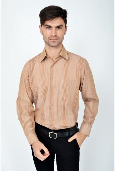 Рубашка 113ROM94 цвет Песочный