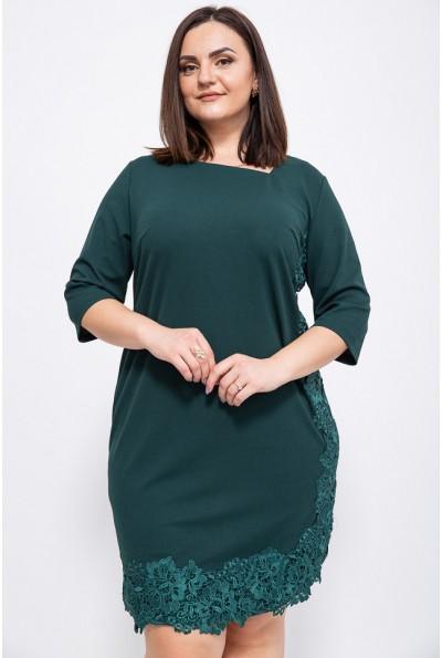 Платье 150R651 цвет Темно-зеленый
