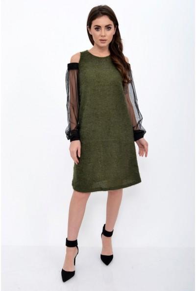 Платье женское 115R903 цвет Зеленый