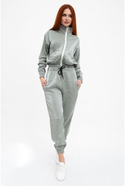 Оливковый прогулочный, спортивный костюм женский 103R2004