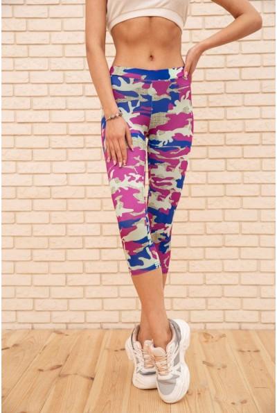 Спортивные женские капри цвет Фиолетовый 172R001 56063