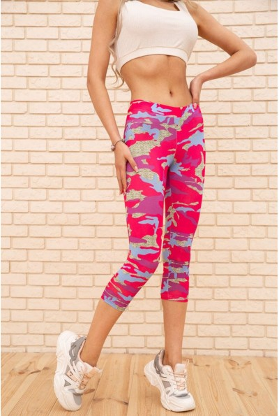Спортивные женские бриджи цвет Розовый 172R001 56061