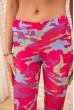 Спортивные женские бриджи цвет Розовый 172R001 скидка