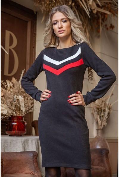 Платье 119R156 цвет Черно-красный