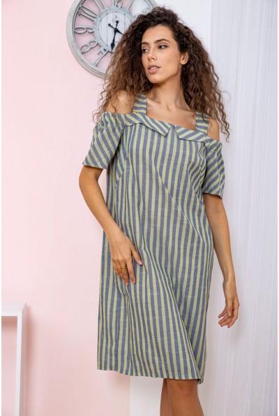 Платье  цвет сине-желтый 150R630 65102