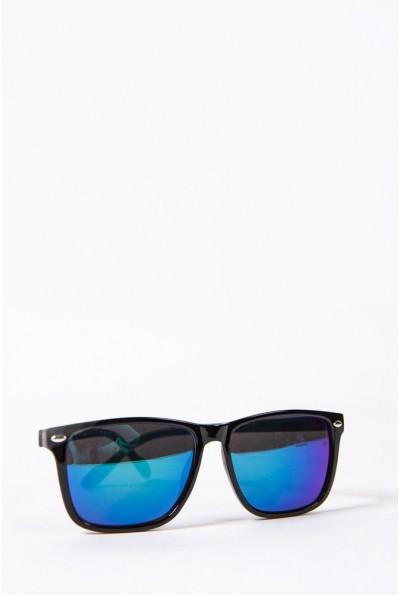 Очки  детcкие  солнцезащитные 154R2019-1 цвет Черно-синий 52680
