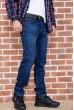 Джинсы мужские  на флисе  цвет темно-синий 129R2099 стоимость