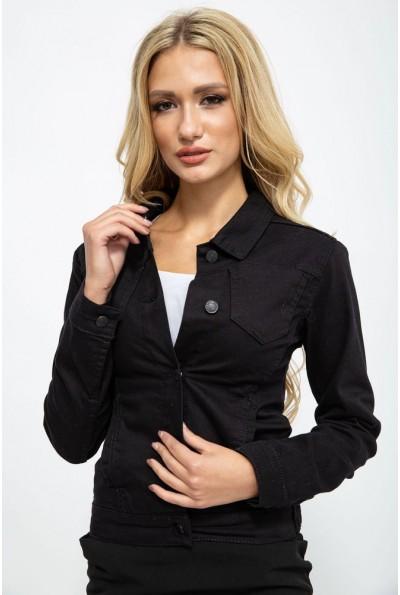 Джинсовая куртка жен.123R12112 цвет Черный