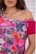 Костюм женский повседневный  цвет розовый 167R12-4 акция
