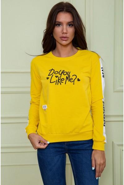 Батник женский  цвет темно-желтый 180R568 64111