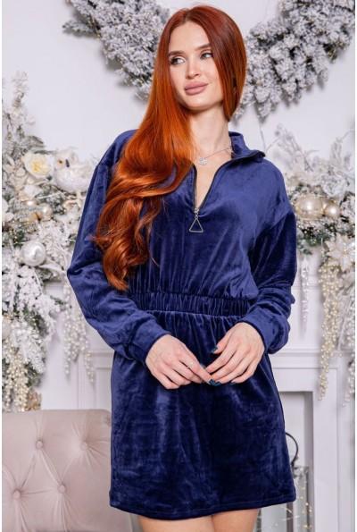 Платье женское 112R466 цвет Синий