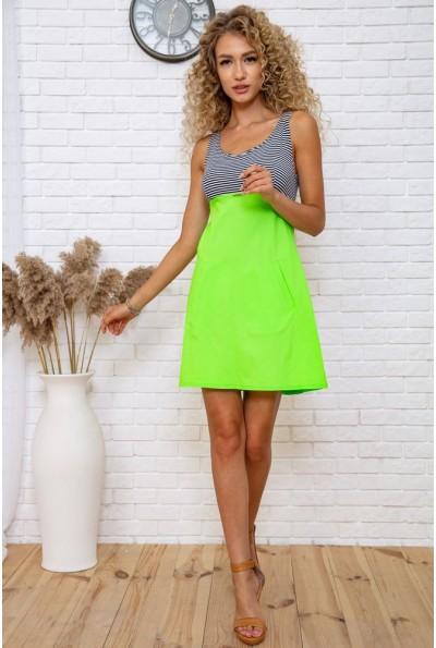 Платье 167R267 цвет Салатово-черный 60699