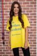 Купить Футболка женская   цвет желтый 180R607 64009