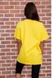 Футболка женская   цвет желтый 180R607 цена 639.0000 грн