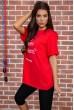 Футболка женская   цвет красный 180R607 недорого