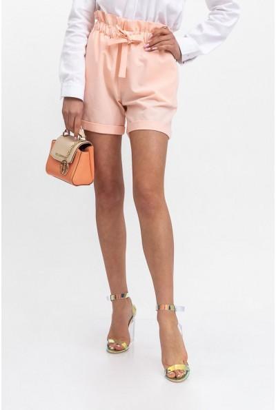 Шорты женские 115R364Y цвет Персиковый