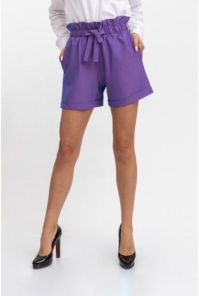 Шорты женские 115R364Y цвет Фиолетовый