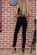 Джинсы женские 129R5032 цвет Черный цена 1089.0000 грн