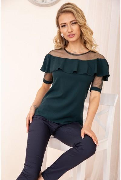 Блуза женская 172R46-1 цвет Зеленый 55714
