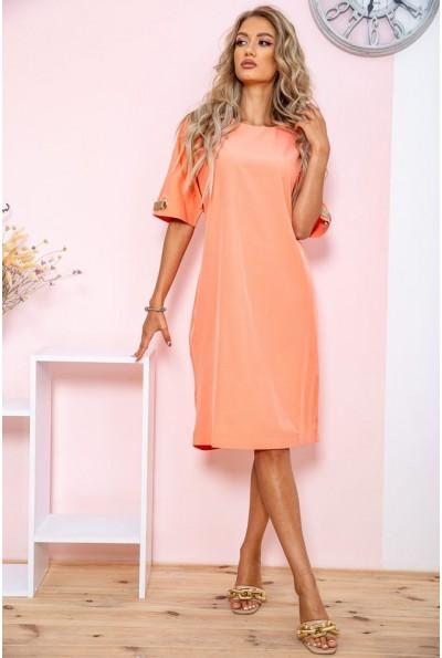 Платье  цвет персиковый 150R543 65118