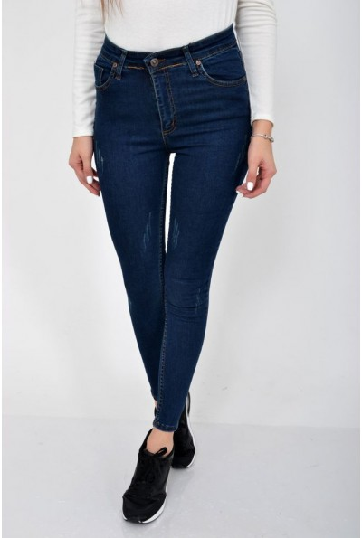 Джинсы женские Skinny, синие 103R057-217