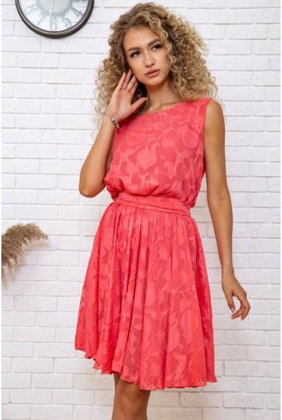 Платье  цвет коралловый 167R1035 58958