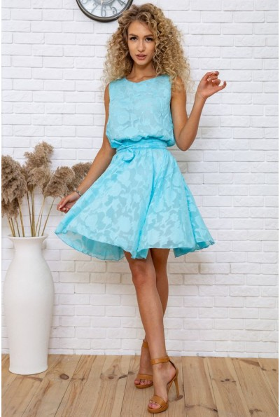Платье 167R1035 цвет Голубой 58956
