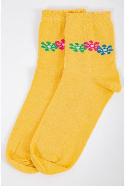 Носки женские 151R017 цвет Желтый