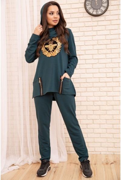 Спортивный  костюм женский 104R107 цвет Зеленый 55192