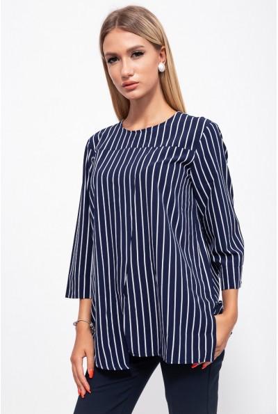 Блуза женская 115R289-1 цвет Сине-белый