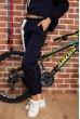 Костюм женский на флисе  цвет темно-синий 167R035 продажа