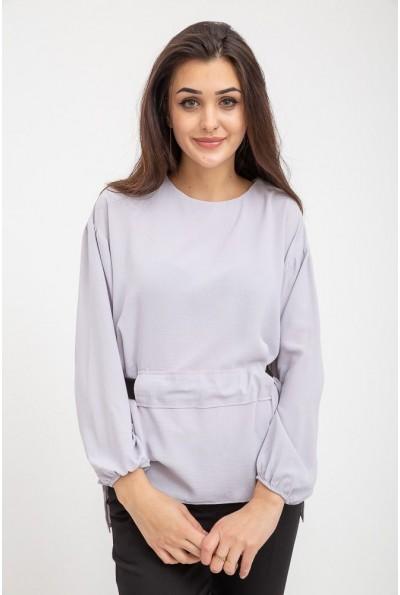 Блуза женская светло-серая 115R130