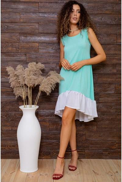 Платье  цвет мятный 167R100-2 62847