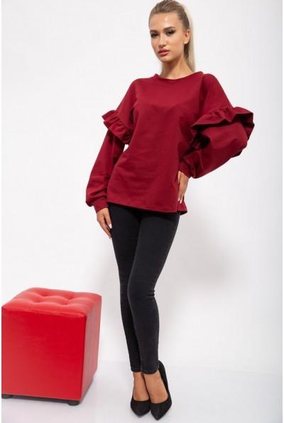 Кофта женская 102R074 цвет Бордовый