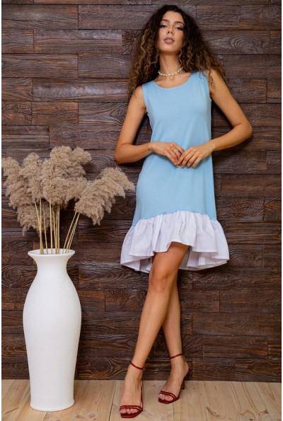 Платье 167R100-2 цвет Голубой 62843