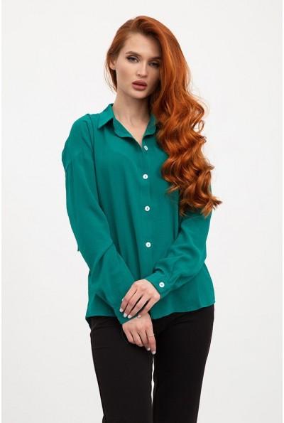 Блуза 115R243W цвет Зеленый