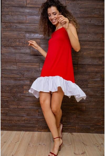 Платье 167R100-2 цвет Красный 62845