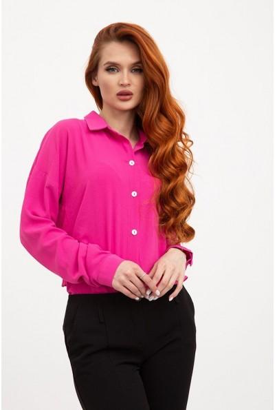 Блуза 115R243W цвет Малиновый