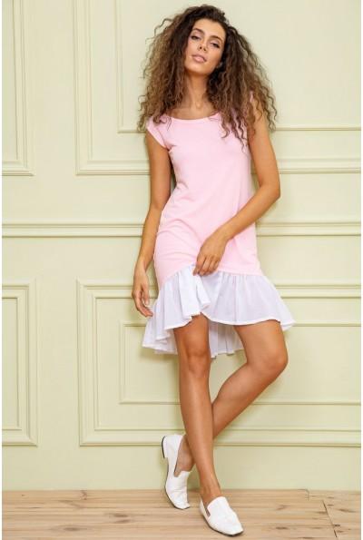 Платье  цвет розовый 167R100-2 62849