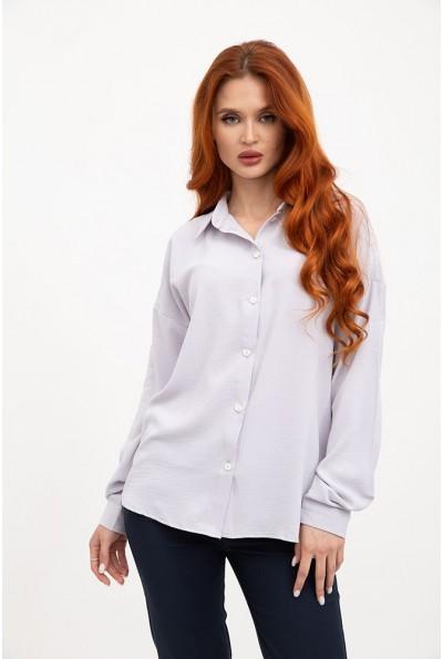 Блуза 115R243W цвет Серый