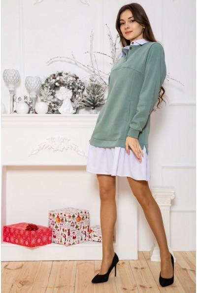 Платье 102R132 цвет Оливковый