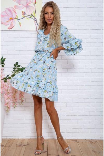 Платье  цвет голубой 104R0021 63415