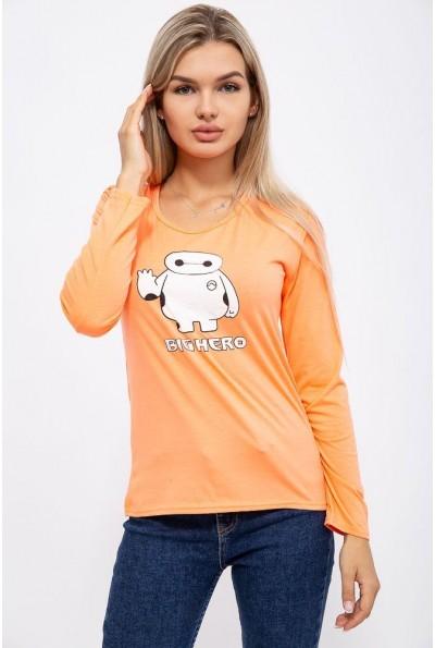 Батник женский 131R23009 цвет Оранжевый 40570