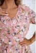 Платье  цвет розовый 104R0021 скидка