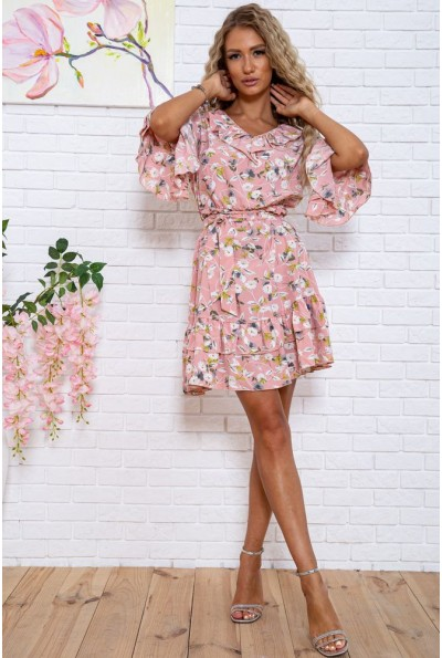 Платье  цвет розовый 104R0021 63419