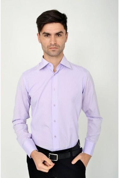Рубашка 113RPass002 цвет Сиреневый