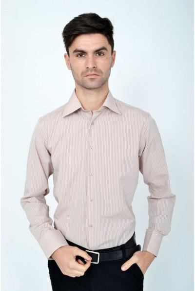 Рубашка 113RPass002 цвет Кремовый