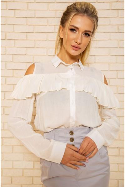 Блузка 115R292-1 цвет Кремовый
