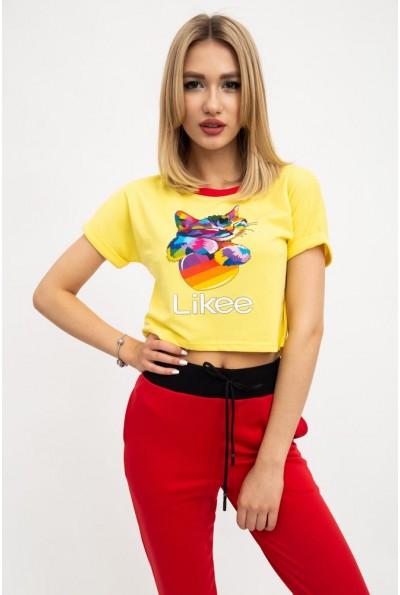 Топ женский 119R0106 цвет Желтый